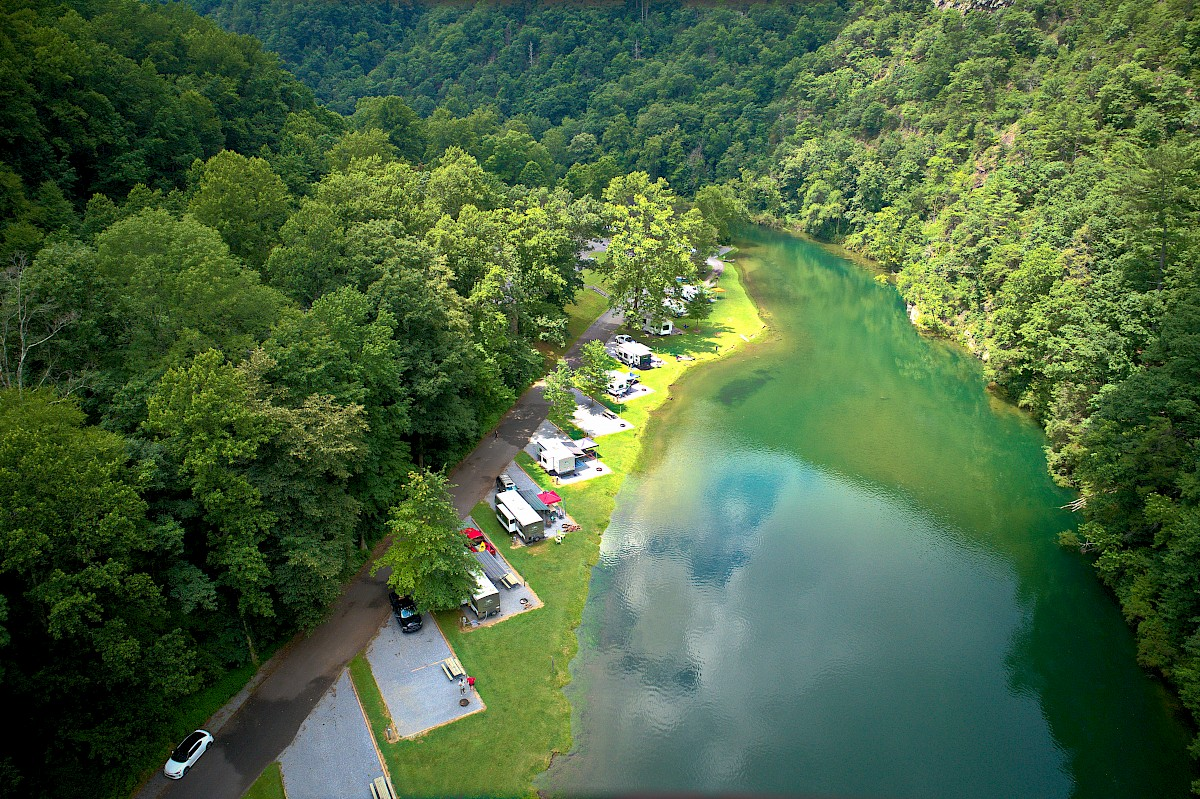 Watauga Dam Campground   Recreation Resource Management
